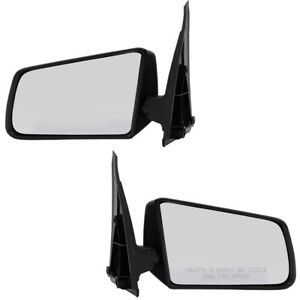 S10 S15 Pickup Truck S10 Blazer S15 Jimmy Set Of Side Manual Textured Mirrors