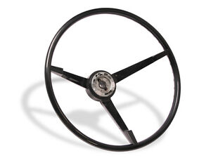 Mustang Steering Wheel Standard Black Plastic 1965 1966 65 66 Falcon Sprint 289