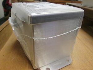Hoffman Stainless Steel Junction Box A6044chnfss Size 6 x 4 x 4 New Surplus