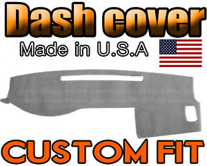 Fits 2005 2015 Toyota Tacoma Dash Cover Mat Dashboard Pad Light Grey