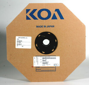 Koa Tape Reel Resistors 47k 1 Watt 1000 Resistors On Reel