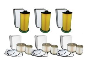 6 0l Turbo Diesel 3 Oil Filters 3 Fuel Filter Combo Kit For Ford E Series Only