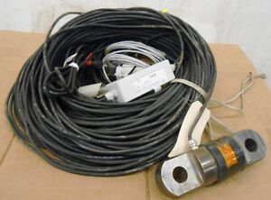 Sensing Systems Corporation Tension Measuring System Underwater Tension Link