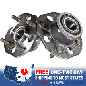 2 Rear Wheel Hub Bearing Assembly For 1998 1999 2000 2001 2002 Honda Accord
