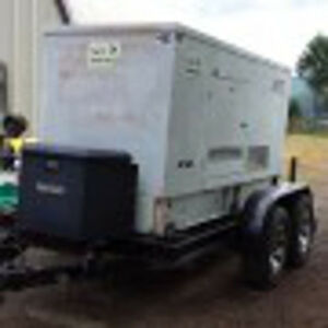 40 Kw Elliot isuzu Trailer Mounted Gen set