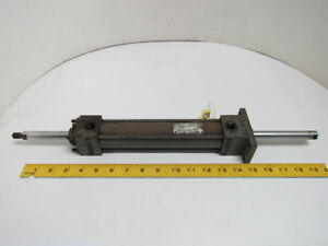 Miller Pneumatic Air Cylinder 1 1 2 Bore 7 Stroke Double Rod