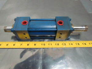 Lynair A 2msg44 Pneumatic Air Cylinder 2 Bore 2 9 16 Stroke Double Rod