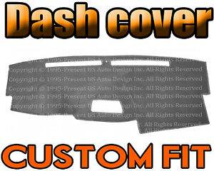 Fits 2004 2015 Nissan Titan Dash Cover Mat Dashboard Pad Charcoal Grey