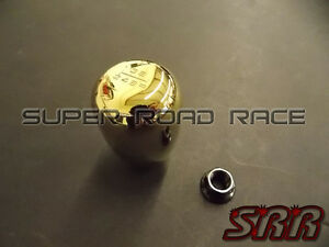 Blox Racing Limited 6 Speed Shift Knob 10x1 25 Gold For Mitsubishi For Nissan
