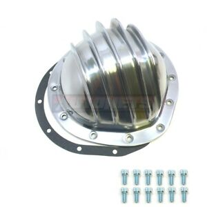 Polished Aluminum Rear Differential Cover Chevrolet Gmc Truck 12 Bolt 8 75 Rg
