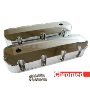 Fabricated Chrome Aluminum Big Block Chevy 396 427 454 502 Valve Cover Bbc Tall