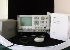 Motorola R 2600a Communication System Analyzer Seller Back In Business