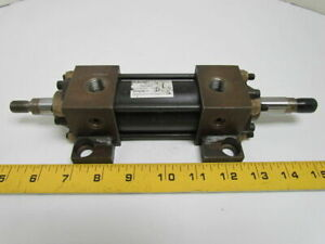 Fba 100821 1 500 Pneumatic Air Cylinder 1 1 2 Bore 1 1 2 Stroke Double Rod