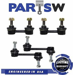 4 Pc New Suspension Kit For Prizm Celica Corolla Front Rear Sway Bar End Links