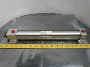 Peninsular Lm1150x12bf Pneumatic Air Cylinder 1 1 2 Bore 12 Stroke Side Lugs