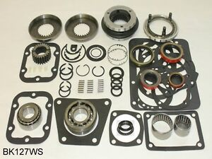 Ford Truck Np435 4 Speed 1964 On Bearing Kit Bk127ws