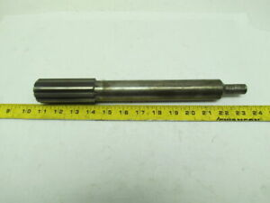 Chucking Reamer 1 1 2 1 500 10pt Straight Flute 0 640 Diameter Shank Used