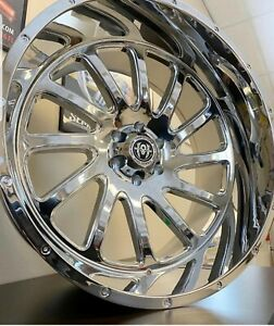30 Inch Chrome U2 55 Rims Wheels 20 24 26 28