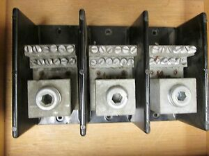 Underwriters Power Distribution Block 13026 Line 1000mcm Load 12 4 14 3p