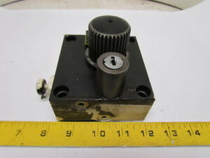 Parker Hydraulics Fg3pkcalb Locking Flow Control Valve No Key