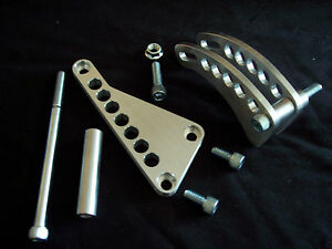 Small Block Chevy Billet Alternator Bracket Usa 350 383 400 Hot Rod Race