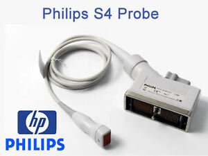 Philips S4 Transducer Probe For Philips Ultrasound Systems