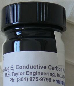 Conductive Carbon Ink Water Based Brush Formula Bulk Size 1 Liter Bottle