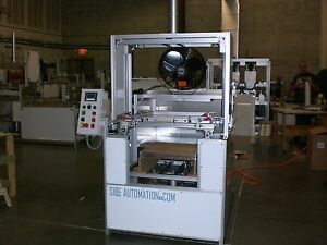 Sibe Automation Vacuum Forming Machine 24 X 24 Plug Assist Top