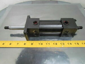 Hydro line Pneumatic Air Cylinder 1 1 2 Bore 2 Stroke Double Rod R5 Series