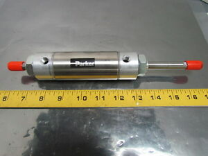 1 50kdxsr02 0 Pneumatic Air Cylinder 1 1 2 Bore 2 Stroke Double Rod Stainless