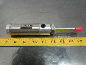 Parker 01 25 Rsrmbs3 1 Pneumatic Air Cylinder 1 1 4 bore 1 Stroke Single Acting