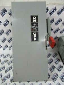 Ge Th2262dc 60 Amp Fusible Disconnect Model 10 new