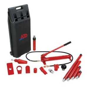 Atd Tools 5810 10 Ton Porto Power Set