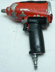 Snap On Mg725 Air Impact Wrench Heavy Duty 1 2 Drive