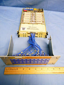 2 Fluke 2300a 002 Thermocouple Scanner Modules W Type t Thermocouple Array