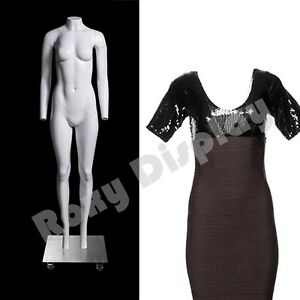 Fiberglass Female Invisible Ghost Mannequin Removable Neck And Arms mz gh2 s