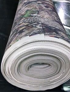 Camo Auto Headliner Fabric 15 Yards True Timber Htc Camouflage 3 16 Foam Back