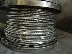 8 Gauge Thhn Wire Stranded Black 200 Ft Thwn 600v Copper Machine Cable Awg