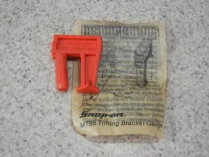 Snap On Mt95 Timing Bracket Gauge 6 2l Chevy Diesel Engine With Instructions