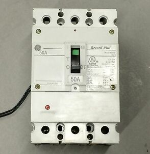 Ge Fbv36te050rv 50 Amp Circuit Breaker With 110 Volt Shunt Trip Warranty