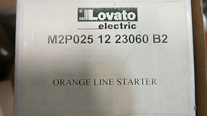 Lovato Orange Line Starter 17 23 Amp 230 Volt Coil 3 Pole New