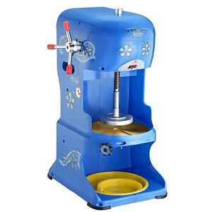 New Premium Quality Shaved Ice Cub Machine Commercial Shaver Snow Cone Maker