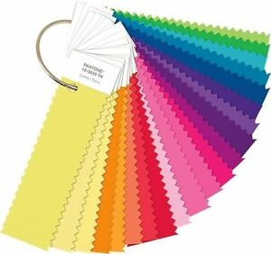 Pantone Fashion Home Nylon Brights Set Ffn100 21 Fluorescent Shades New