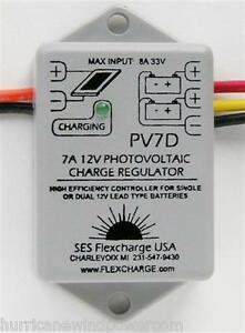 Flexcharge Pv7d 7 Amp Charge Controller For Photovaltaic Charging System