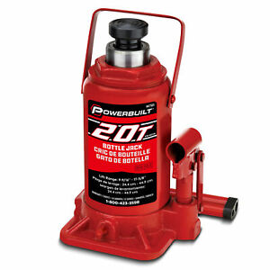 Powerbuilt 20 Ton Bottle Jack 647503