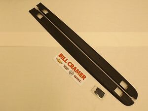 17802472 2007 2013 Chevrolet Silverado Bed Rail Protectors For 8ft Long Box