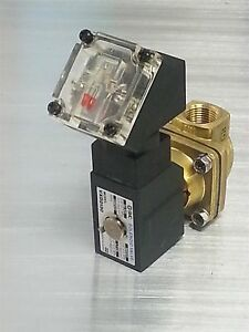 Smc Pneumatic Solenoid Valve Part Vxd2130 02 3g W Indicator Light