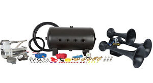 Hornblasters Outlaw Black 540 Train Horn Kit
