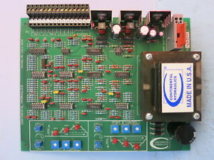 Continental Hydraulics Ecm5 r2 p12p 24c b Assembly 552068 Plc Board Power Supply