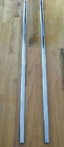 1955 1956 1957 Chevy 210 2 Door Driver Passenger Window Frame Lower Stainless
